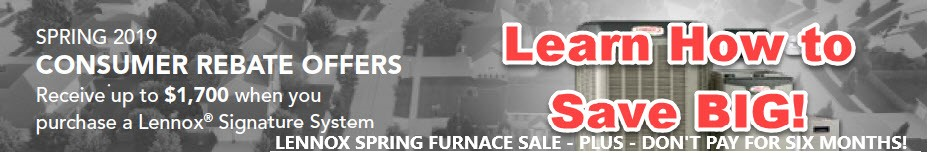 Lennox Furnace and AC Rebates